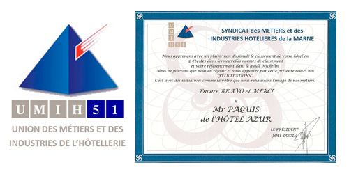 UMIH 51 syndicat des hoteliers